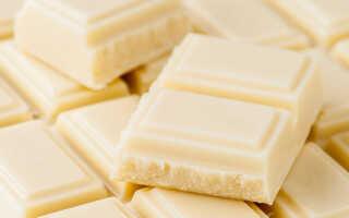 Как правильно сделать белый шоколад в домашних условиях (2 рецепта)