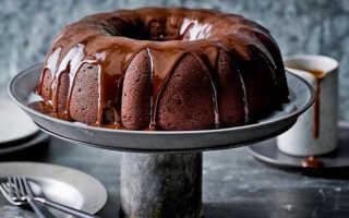Как приготовить шоколадно-банановый кекс (2 рецепта)