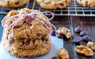 Как приготовить овсяное печенье с шоколадом — 9 простых рецепт с фото