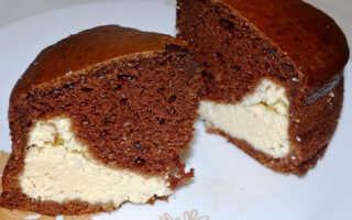 Как приготовить шоколадный пирог с творогом (9 рецептов)