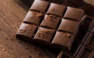 Сколько калорий в темном (черном) шоколаде — калорийность