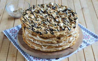 Как приготовить торт воздушный Сникерс (пошаговый рецепт с фото)