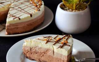 Как приготовить чизкейк «Три шоколада» (пошаговый рецепт с фото)