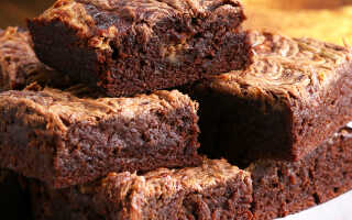 12 пошаговых рецепта ПП брауни (шоколадного, тыквенного, классического)