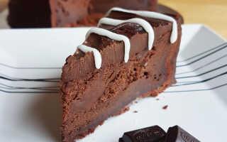 Как приготовить ПП шоколадный торт (2 пошаговых рецепта с фото)