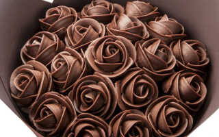 Как сделать цветы из шоколада для украшения торта своими руками