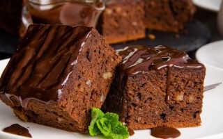 Как приготовить шоколадный брауни в мультиварке (9 рецептов с фото)