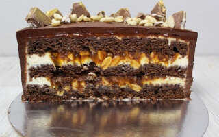 Как приготовить шоколадный торт с орехами – 14 рецептов