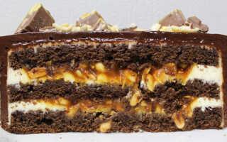 Как правильно приготовить торт Сникерс в домашних условиях (рецепты с фото)