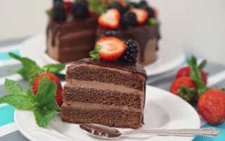 Как приготовить торт с шоколадной пастой Нутелла (4 рецепта с фото)