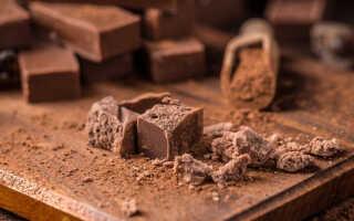Какая калорийность молочного шоколада (сколько калорий) на 100 грамм