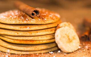 Как приготовить панкейки с бананом и шоколадом (7 рецептов)