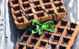 10 рецептов – как приготовить шоколадные вафли в вафельнице