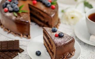 Как приготовить шоколадный торт в домашних условиях (29 рецептов)