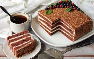 Как приготовить шоколадный торт Спартак (15 рецептов)
