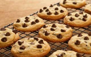 Как правильно приготовить печенье Американо с шоколадом