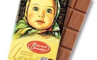 Молочный шоколад «Алёнка», его состав, размеры, история производства
