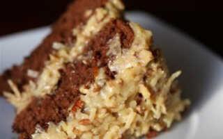 Как я готовлю немецкий шоколадный торт