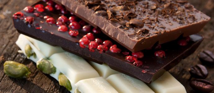живой (ручной работы) шоколад