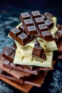разный шоколад