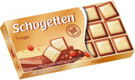Шоколад компании «Шогеттен» - белый