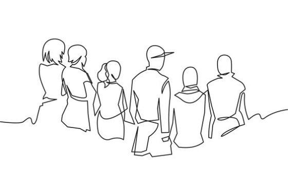 нарисованные люди