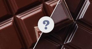 Горький и темный шоколад в чем разница