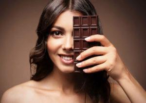 Польза и вред шоколада для женщин