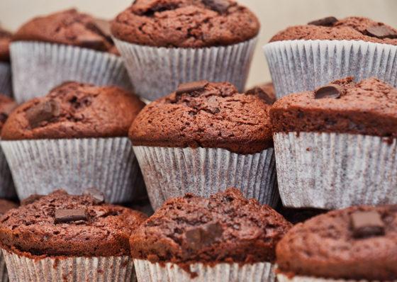 Рецепт постного шоколадного маффина