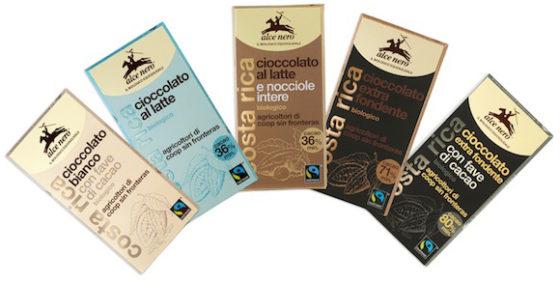 Шоколад Alce Nero
