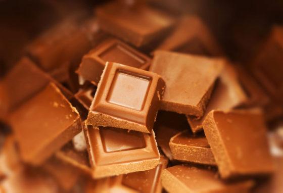 Сколько калорий в 100 г молочного шоколада