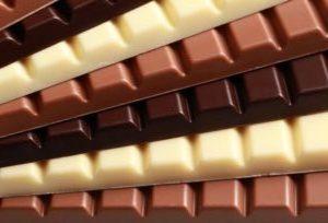 шоколад разного вида