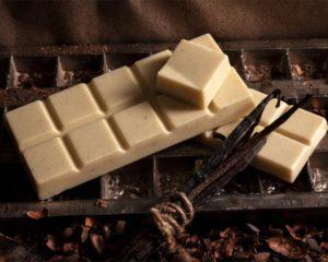 белый шоколад и ваниль