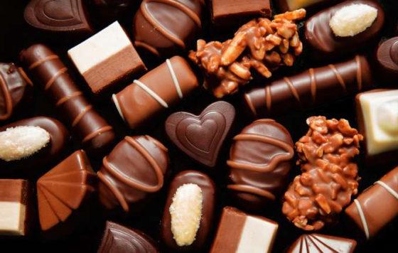 Желание кушать шоколад