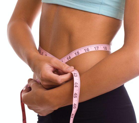при похудениии