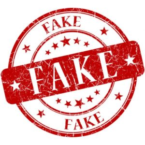 Fake - подделка