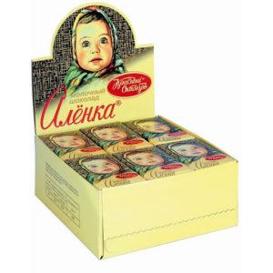"""упаковка шоколада """"Аленка"""""""