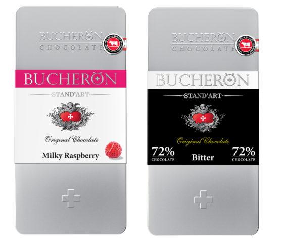 Bucheron Stand art горький шоколад