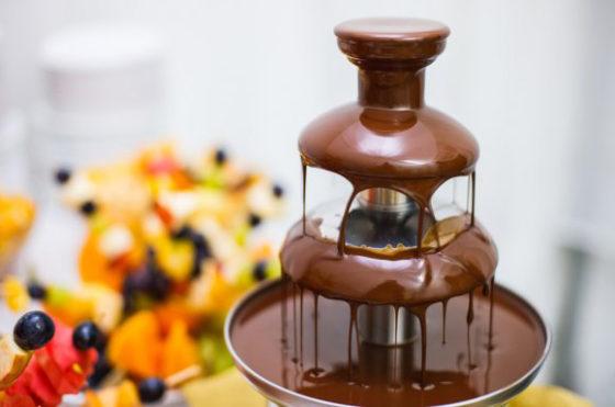 Что такое шоколадный фонтан