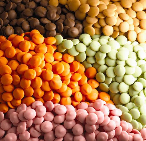 Драже для цветного шоколада