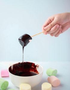 Фондю шоколадно-фркутовое