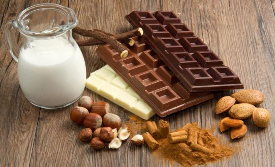 Как сделать горький шоколад из молочного