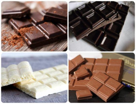 Какой вес дольки шоколада