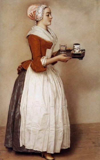 Картина шоколадница