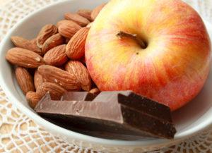 Меню на шоколадной диете