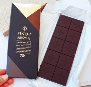 O Zera Fino de Aroma Esmeraldas горький шоколад
