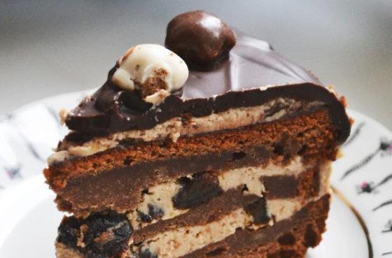 Рецепт торта чернослив в шоколаде