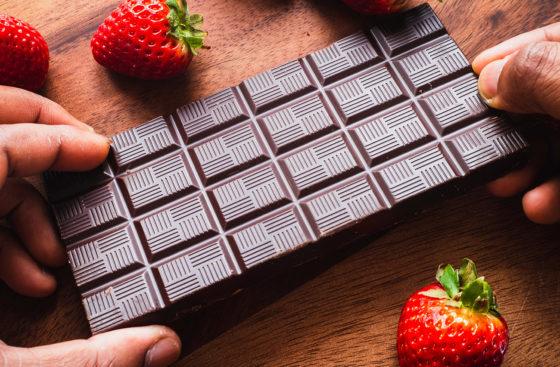 Шоколад для клубники