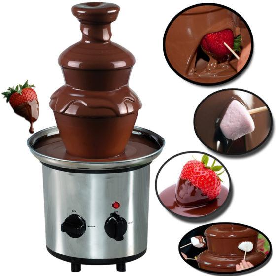 Шоколадный фонтан как пользоваться