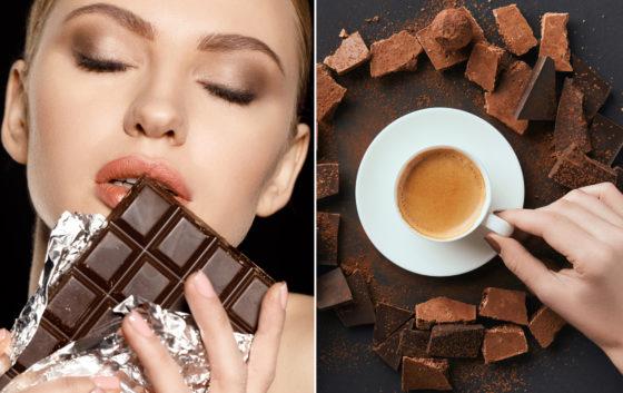 Шоколадный разгрузочный день с кофе